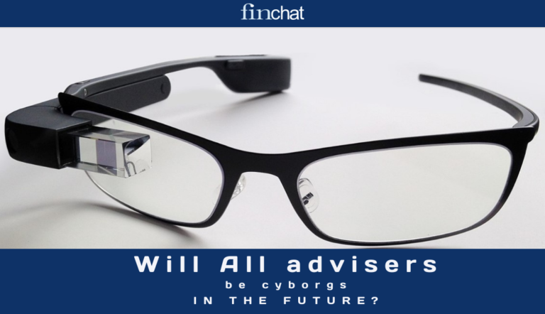 Will all advisers become cyborgs?