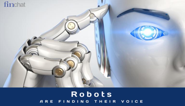 Robots find their voice